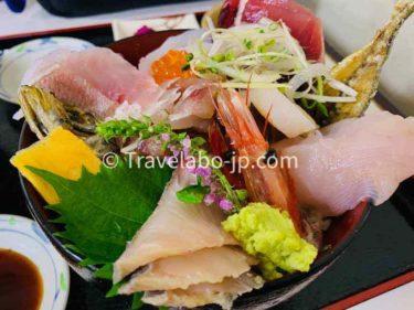 【小田原市早川】魚市場食堂で相模湾の海の幸を食す!